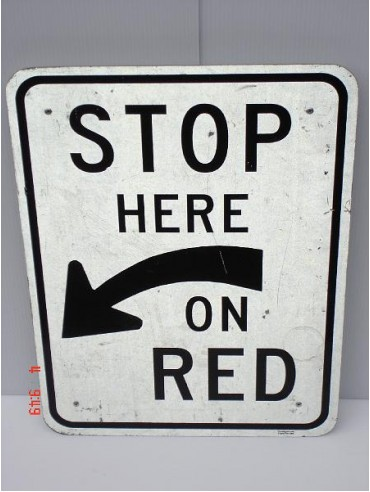 Stop Here On Red