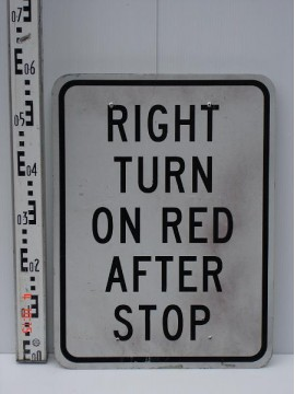 Right Turn On Red After Stop